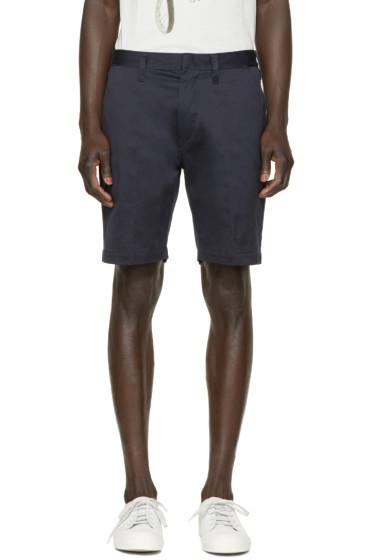 Paul Smith Jeans - Navy Twill Shorts