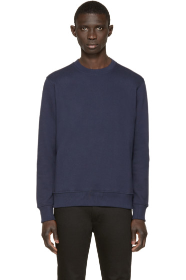 Paul Smith Jeans - Navy Terry Pullover