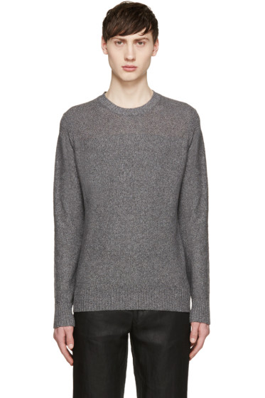 Paul Smith Jeans - Grey Knit Sweater