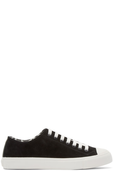 Paul Smith Jeans - Black Indie Low-Top Sneakers