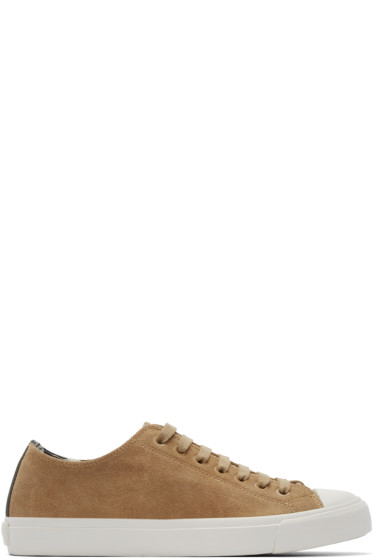 Paul Smith Jeans - Beige Indie Desert Low-Top Sneaker