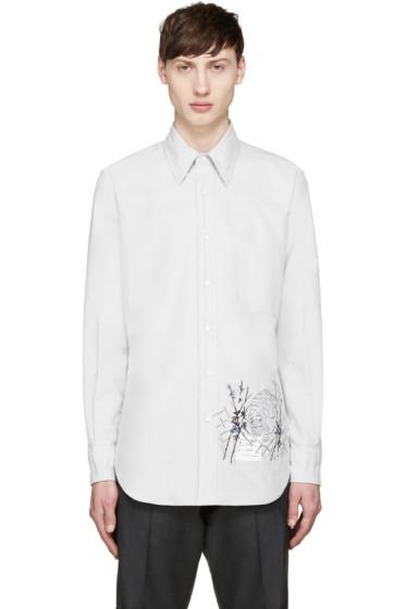 Thom Browne - Grey Tiger Shirt
