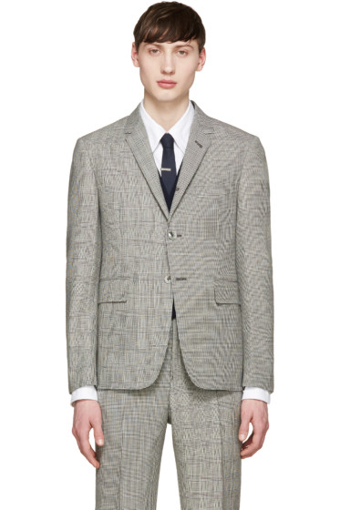 Thom Browne - Black & White Prince of Wales Blazer