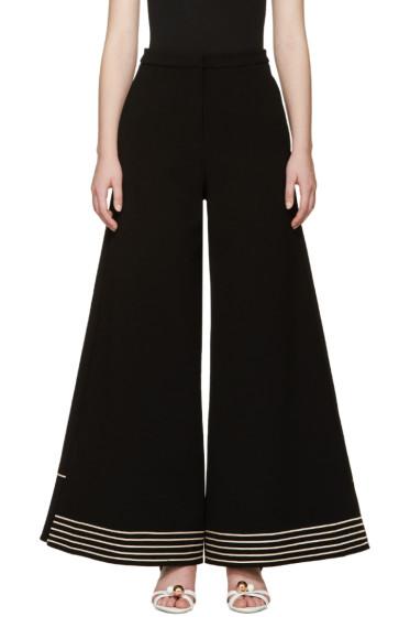 Roksanda - Black Crepe Julie Trousers