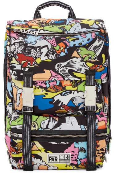 Kenzo - Multicolor Nylon Crazy Backpack