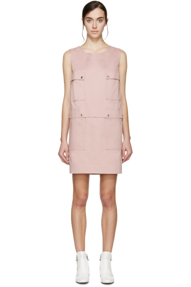 Kenzo - Pink Twill Shift Dress
