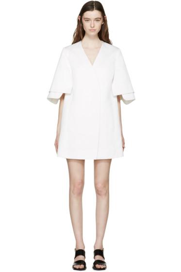Kenzo - White Jacquard Kimono Jacket