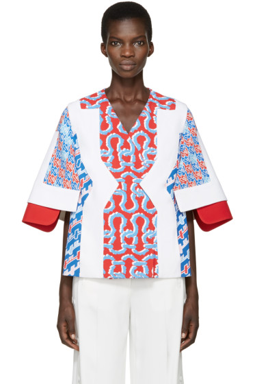 Kenzo - Tricolor Patterned Jacket