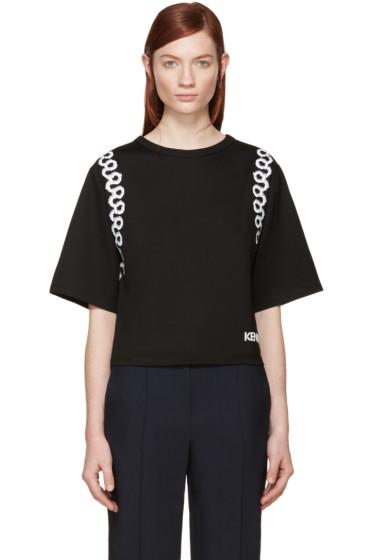 Kenzo - Black Graphic Loop Printed Sweatshirt