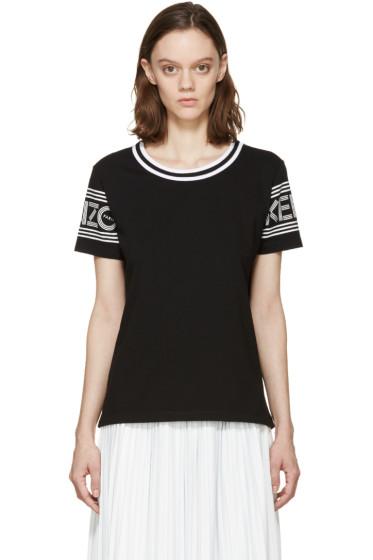 Kenzo - Black & White Logo T-Shirt