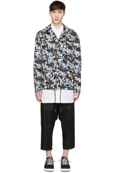 Kenzo - Multicolor Patterned Coaches Jacket
