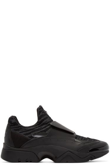 Kenzo - Black Mesh Smeths Sneakers