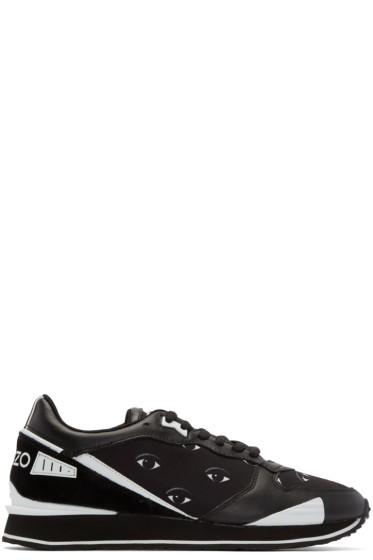Kenzo - Black Eye Print Sneakers