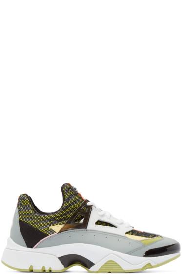 Kenzo - Multicolor Mesh Sonic Sneakers