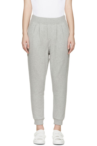 Maison Kitsuné - Grey Fancy Jog Lounge Pants