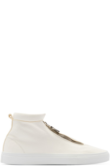 Diemme - Ivory Leather Fontesi Sneakers