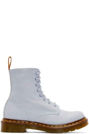 Dr. Martens - Blue Eight-Eye Pascal Boots