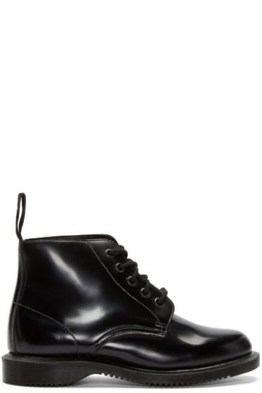 Dr. Martens - Black Five-Eye Emmeline Boots