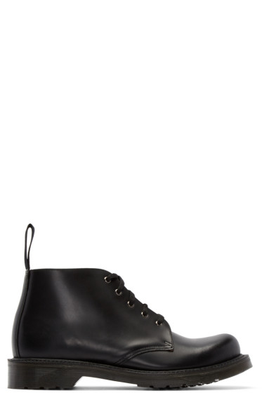 Dr. Martens - Black Five-Eye Hampton Boots