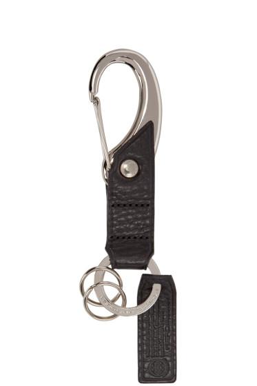 Master-Piece Co - Black Leather Keychain