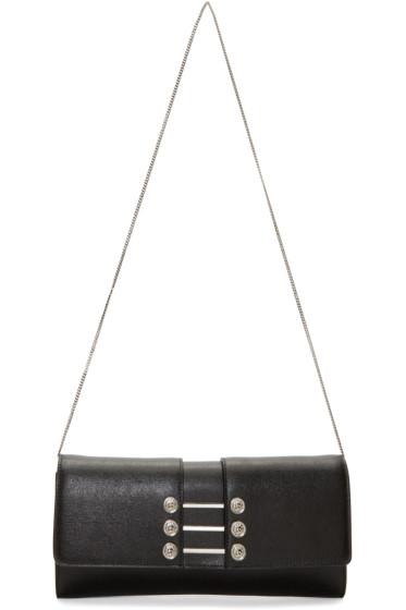 Versus - Black & Silver Pierced Bag
