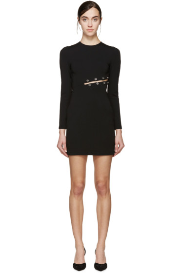Versus - Black Safety Pin Dress