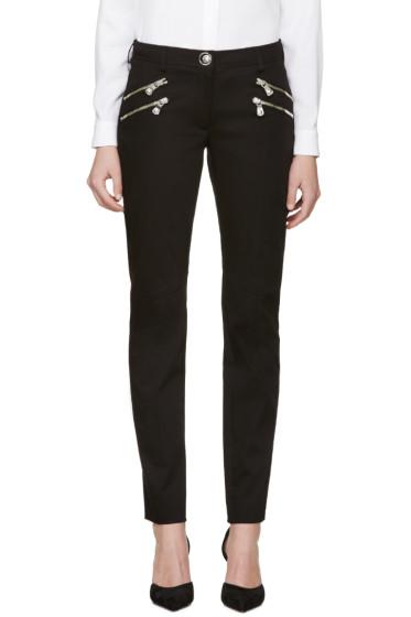Versus - Black Zippered Trousers