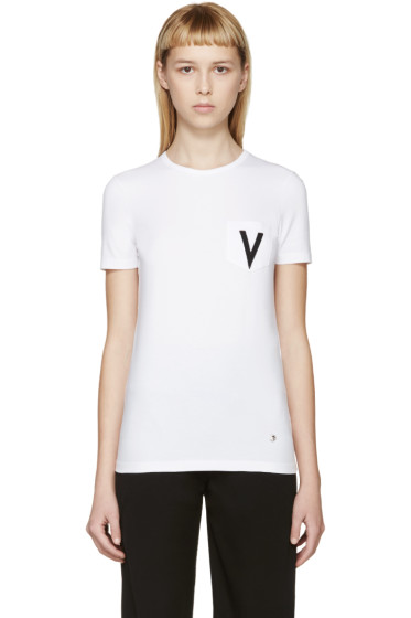 Versus - White V T-Shirt