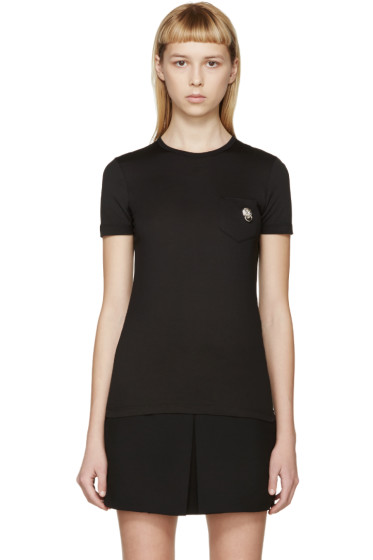 Versus - Black Pocket Ornament T-Shirt