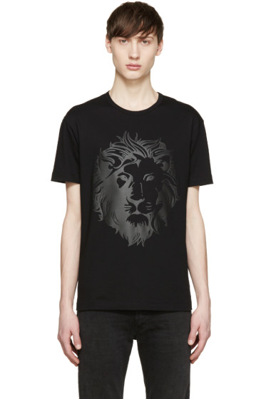 Versus - Black Lion T-Shirt