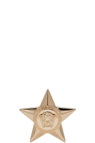 Versace - Gold Medusa Star Ring