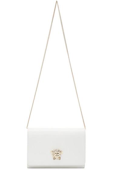 Versace - White Medusa Shoulder Bag