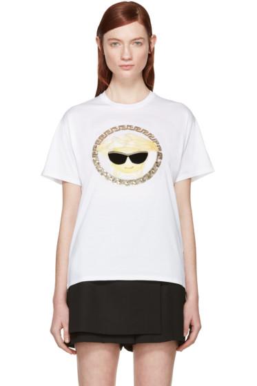 Versace - White Sunglasses Medusa T-Shirt
