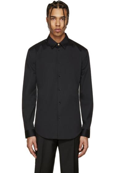 Versace - Black Poplin Shirt