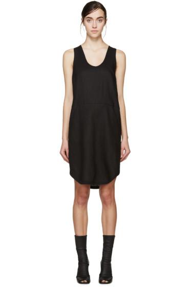 Denis Gagnon - SSENSE Exclusive Black Linen Dress