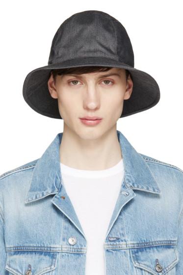 Undercover - Grey Gabardine Bucket Hat