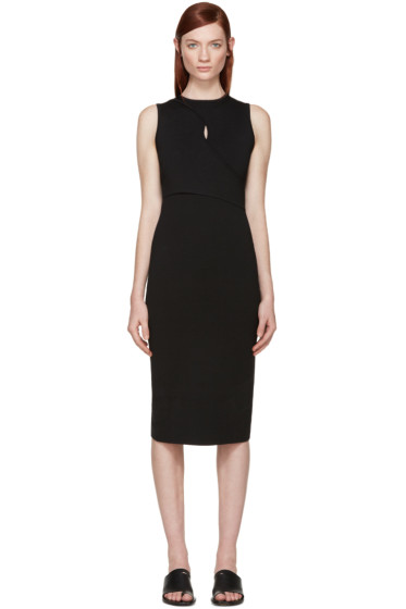 Dion Lee - Black Knit Vertigo Dress