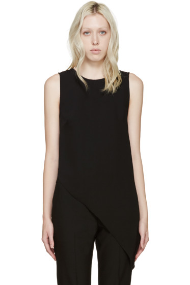 Dion Lee - Black Asymmetrical Top
