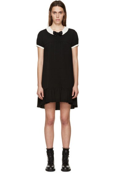 Saint Laurent - Black Babydoll Dress