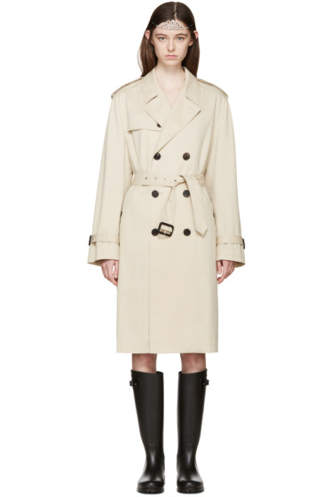 Saint Laurent - Tan Trench Coat