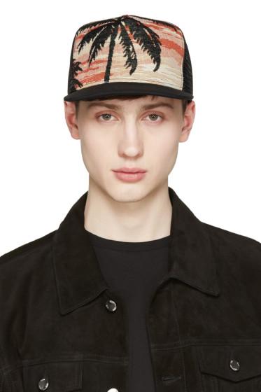 Saint Laurent - Black Palm Tree Hat
