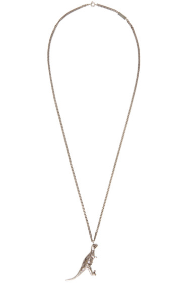 Saint Laurent - Silver Chain Dino Necklace
