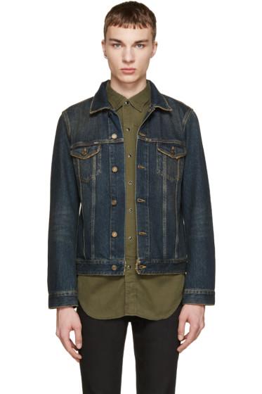 Saint Laurent - Blue Classic Denim Jacket