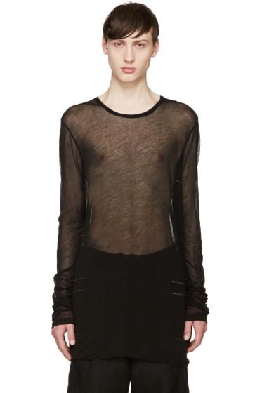 Julius - Black Long Sleeve T-Shirt