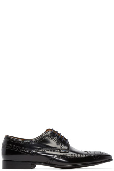 PS by Paul Smith - Black High Shine Aldrich Brogues