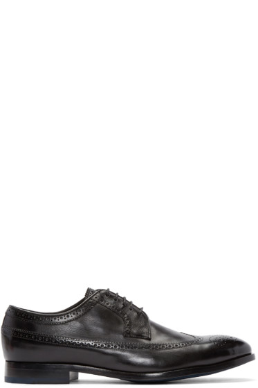 PS by Paul Smith - Black Talbot Longwing Brogues