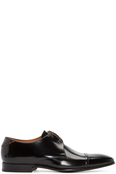 PS by Paul Smith - Black Leather Robin Derbys