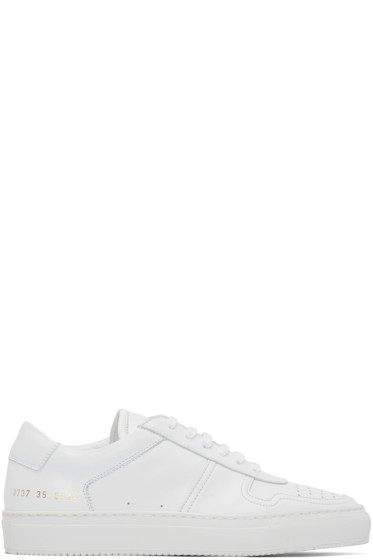 Woman by Common Projects - White Bball Sneakers