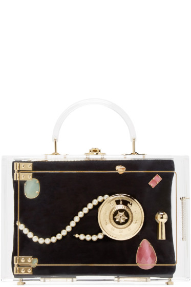 Charlotte Olympia - Transparent Heirloom Case Box Clutch