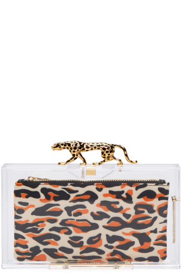 Charlotte Olympia - Clear Savage Pandora Clutch